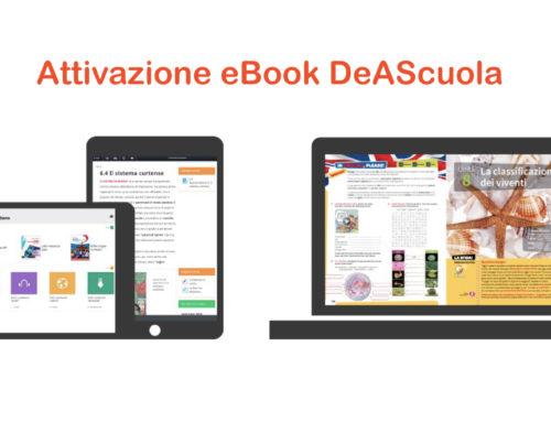 GUIDA ATTIVAZIONE EBOOK DEASCUOLA BSMART A STUDENTI DI ETÀ INFERIORE AI 14 ANNI