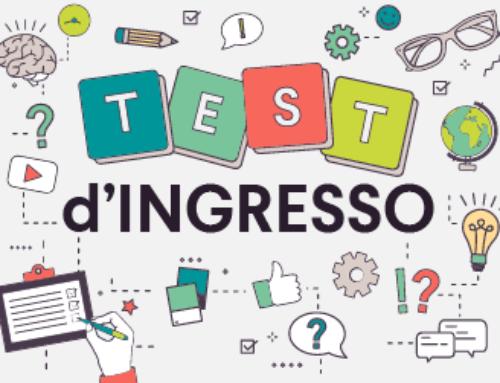 DEA Scuola – RIPARTENZA, ACCOGLIENZA E TEST DI INGRESSO